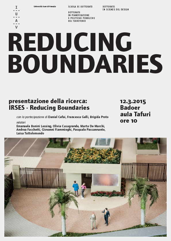 seminario reducing boundaries in iuav_12.03